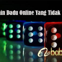 Tips Bermain Dadu Online Yang Tidak Merugikan